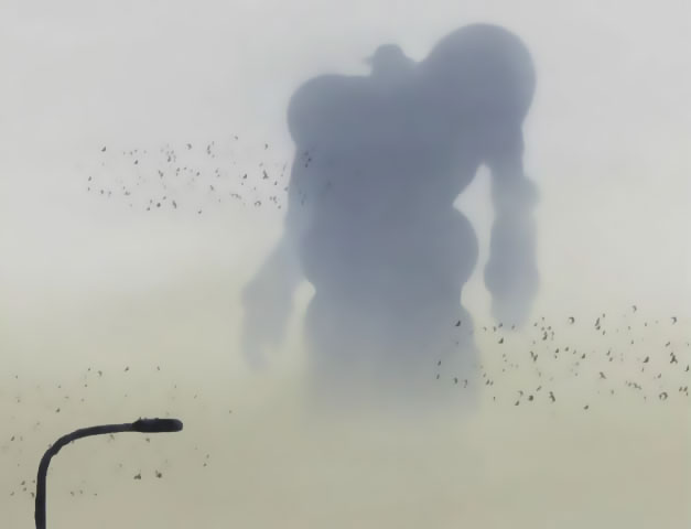Hint: Ask yourself first whether this is a hero or a villain's silhouette.